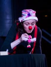 Carol Wash at the Puppet Slam Cabaret