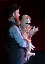 Tommy Baker at the Puppet Slam Cabaret