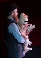 Tommy Baker at the Puppet Slam Cabaret
