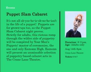 Puppet Slam Cabaret